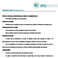 Livro de Protocolos do Serviço de Medicina Nuclear